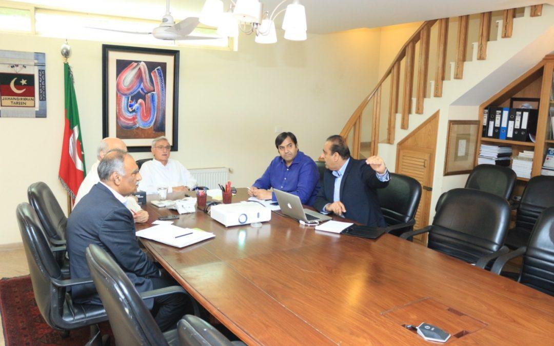 Meeting With Jahangir Tareen